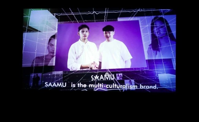 Die Designer von Saamu sendeten eine Videobotschaft aus Thailand
