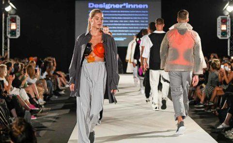 Modeschule KunstModeDesign Herbstrasse auf der MQ Vienna Fashion Week 2020
