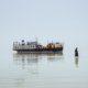"""Foto """"The Death of Lake Urmia"""" zu sehen im Kunst Haus Wien"""
