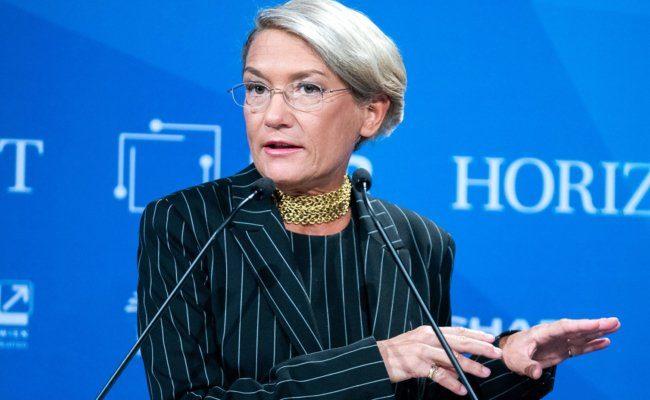Franziska Augstein von der Süddeutschen Zeitung im Rahmen der Medientage 2020 in Wien