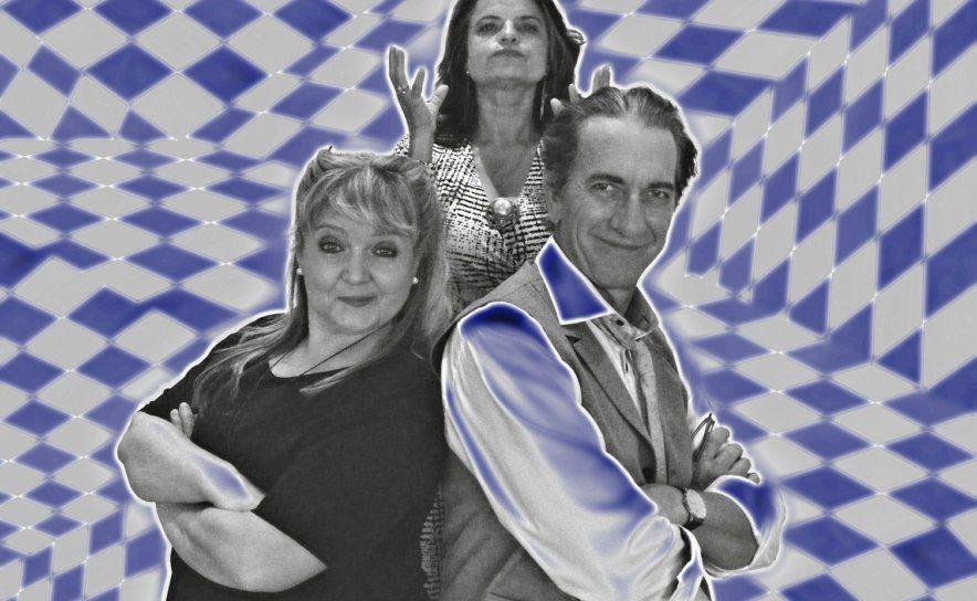 Komödie von Daniel Glattauer mit Hubert Wolf, Doris P. Kofler und Natascha Shalaby in den Rollen
