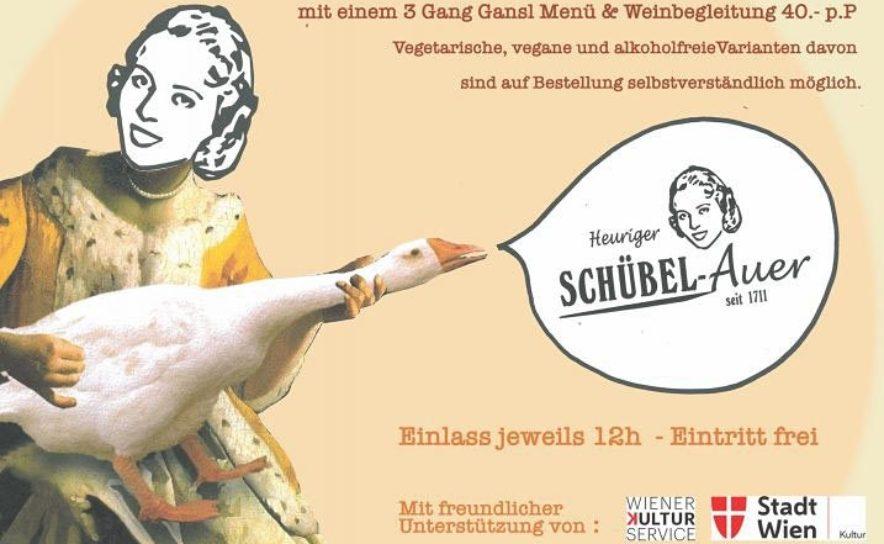 """Konzerte mit Wienerliedern beim Heurigen Schübel-Auer unter dem Motto """"Kulturherbst"""""""