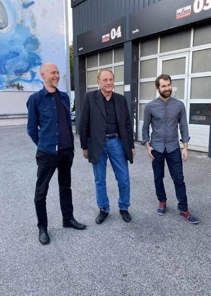 MMC Haus Künstler Olav Osten, Christian L. Attersee und Florian Köhler