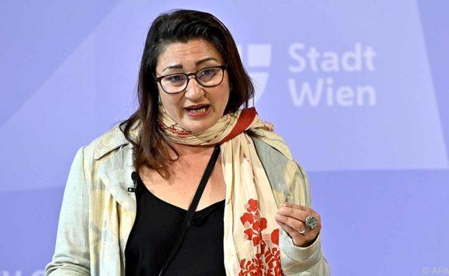 Veronica Kaup-Hasler stellt neuen brut Wien Standort vor