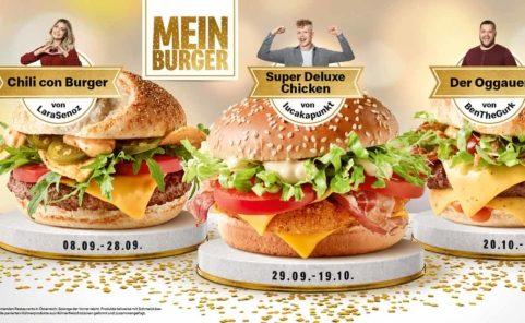McDonalds Österreich Mein Burger-Challenge 2020 Gewinner