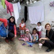 Ernst-Dziedzic besuchte das Flüchtlingslager Moria im März