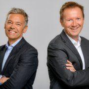 ORS Geschäftsführer Michael Wagenhofer und Norbert Grill