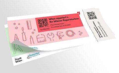 Stadt Wien Reparaturgutschein für die Instandsetzung noch funktionstauglicher Gegenstände