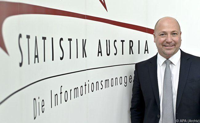 Statistik Austria-Generaldirektor, Tobias Thomas