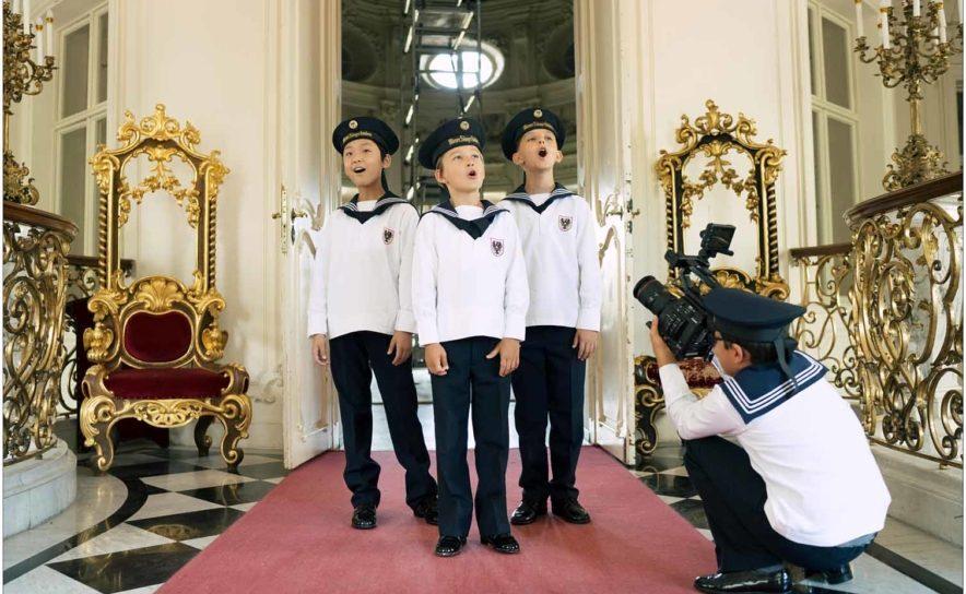 """Bei der """"World Online Tour"""" kann man die Wiener Sängerknaben im Live Stream erleben"""