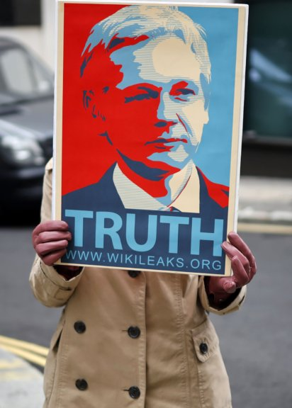Julian Assange leidet unter seinen Haftbedingungen