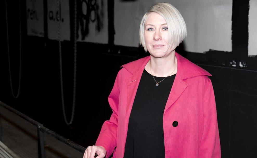 Kira Kirsch ist künstlerische Leiterin und Geschäftsführerin des brut