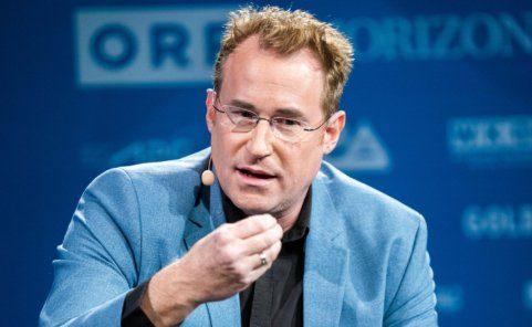 Gerald Fleischmann im Rahmen der Österreichischen Medientage 2020 in Wien