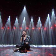 Auftritt von Ina Regen im TV-Studio beim diesjährigen Amadeus Award