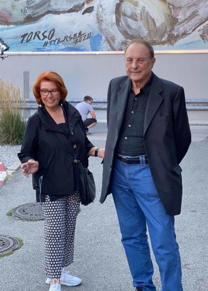 Ingrid Klingohr und Christian L. Attersee
