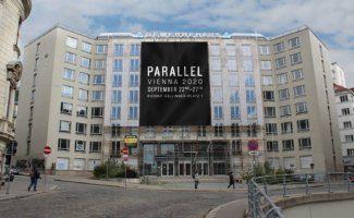 Parallel Vienna im ehemaligen WKO-Bürogebäude am Rudolf-Sallinger-Platz 1 in Wien Landstraße