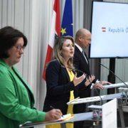 Der Integrationsbericht 2020 wurde von Integrationsministerin Susanne Raab vorgestellt