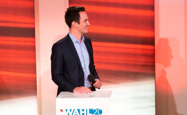 Spitzenkandidat der Neos Christoph Wiederkehr