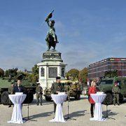 Live-Berichterstattung des ORF und privater TV-Sender am Nationalfeiertag