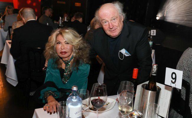 Nadine und Friedrich Schiller bei der Eröffnungsgala im Vindobona