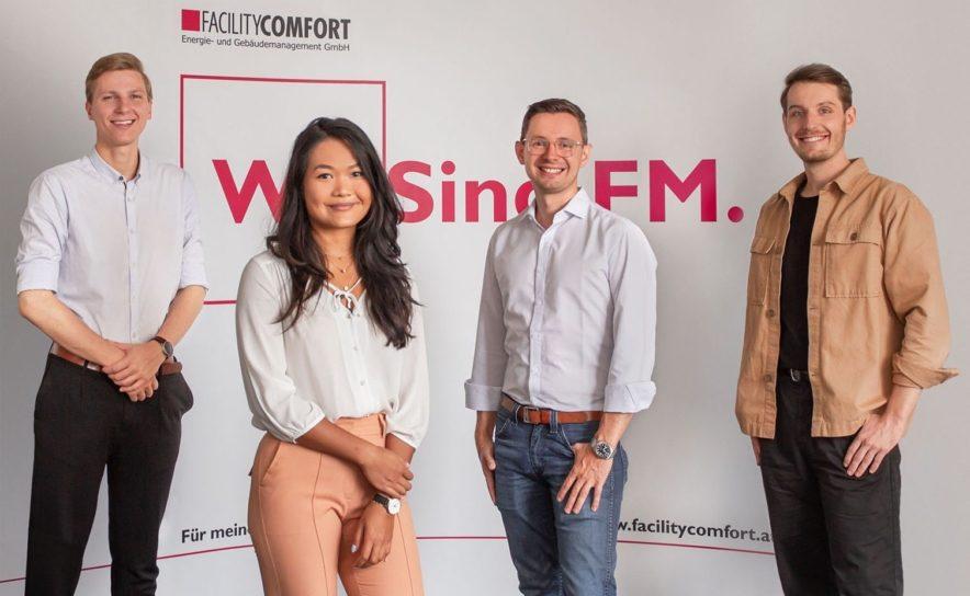 Agentur Wiener Fuchsfabrik und Facilitycomfort Team Members