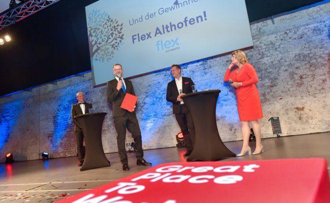 Ausgezeichnet in der Kategorie Betriebliche Bildung & Lebenslanges Lernen wurde Flex Althofen in Kärnten