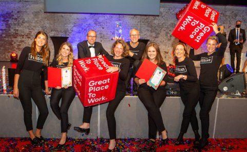 Österreichs Beste Arbeitgeber 2020 - Special Awards für Hilton Hotels Austria