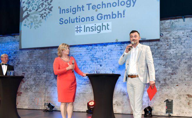 Ausgezeichnet in der Kategorie New Work & Lebensqualität wurde die Insight Technology Solutions GmbH