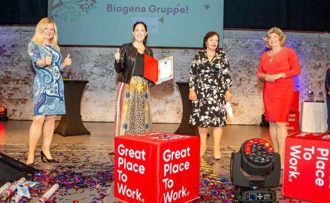 Ausgezeichnet in der Kategorie Sustainable Development wurde die Biogena-Gruppe