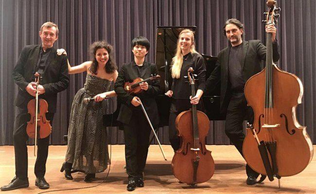 Klavierabende der Philharmonie Salzburg in Gastein mit dem Forellenquintett