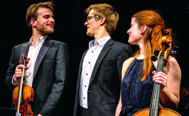 Klavierabende der Philharmonie Salzburg in Gastein mit dem Moser Trio