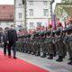 Ehrenempfang für den slowenischen Präsident Borut Pahor