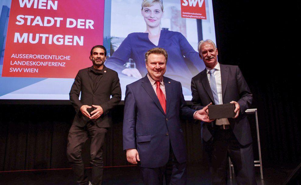Fritz Strobl führte den SWV Wien 25 Jahre lang