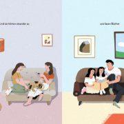 """""""And the people stayed home"""" als Bilderbuch auf Deutsch erschienen"""