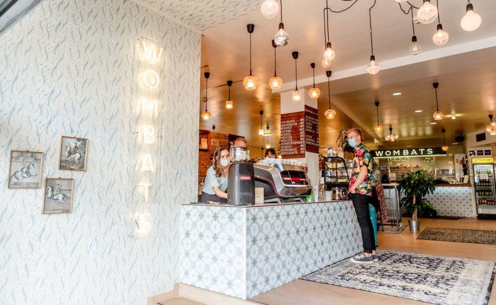 Das neue Wombat's Café am Wiener Naschmarkt, Rechte Wienzeile 35
