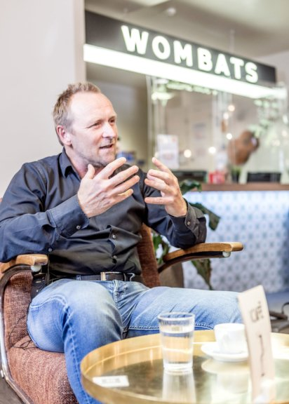 Wombat's Gründer und Geschäftsführer Marcus Praschinger