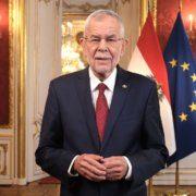 Rede des Bundespräsidenten Alexander van der Bellen zum Nationalfeiertag