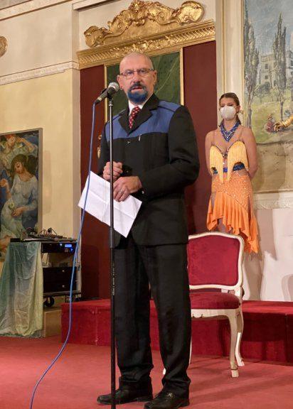 Wolfgang Huber vom Stift Klosterneuburg führte in das Werk von Larot ein