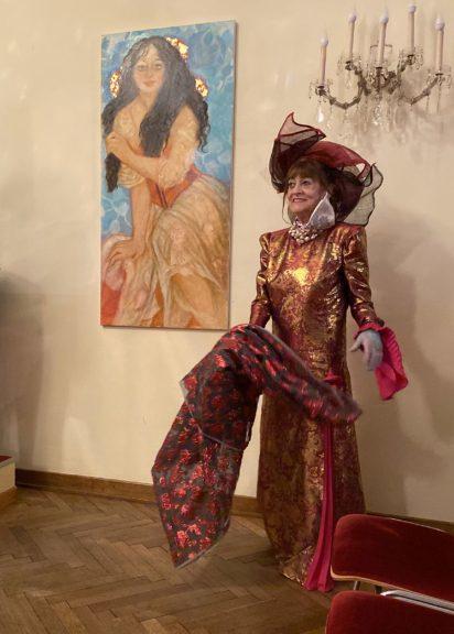 Porträt von Ursula Pfitzner von Dina Larot