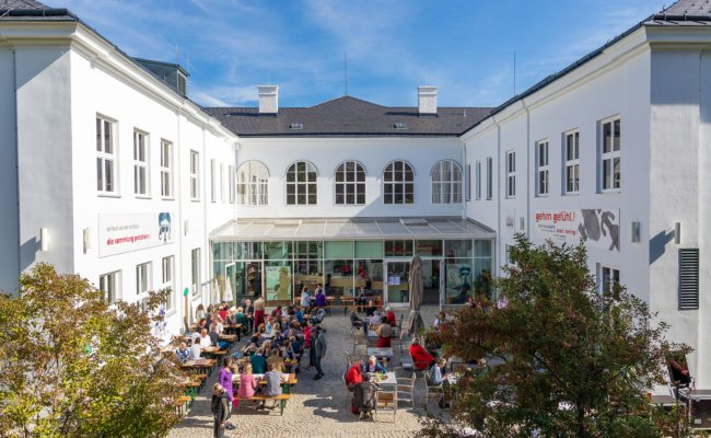 Das museum gugging ist Teil des Art Brut Centers Gugging