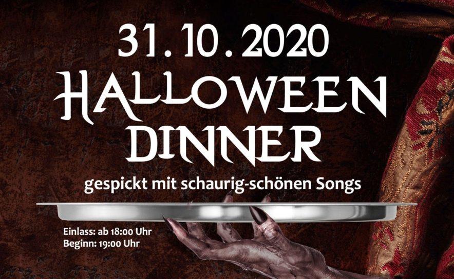 Halloween Dinner mit Showprogramm im Vindobona