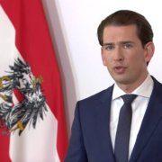 Bundeskanzler Sebastian Kurz verkündet 2. Lockdown bei einer Ansprache in ORF eins