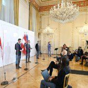 Ein neuerlicher Lockdown in Österreich wird von der Regierung erörtert