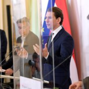 Kanzler Sebastian Kurz und seine Regierung verliert an Vertrauen