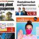 Titelseiten Österreichische Tageszeitungen vom 31. Oktober