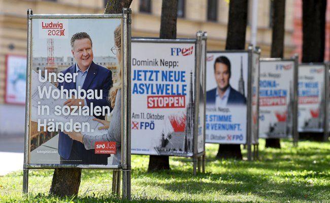 Bei der Wien-Wahl 2020 zeichnet sich ein klarer Sieg der Wiener SPÖ ab