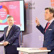 Peter Hanke und Michael Ludwig nennen Ausgaben für Konjunkturpaket