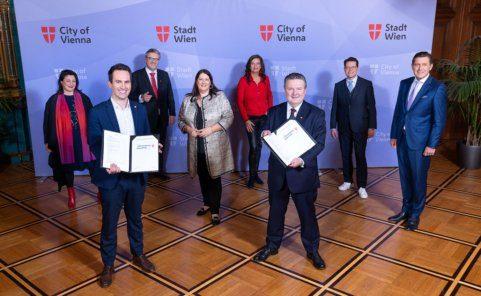 Die neue Wiener Stadtregierung unter Bürgermeister Ludwig