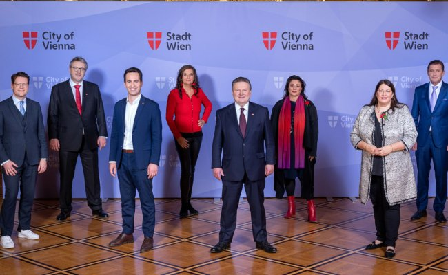 Die neue Wiener Stadtregierung