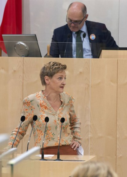 Nationalratsabgeordnete Sibylle Hamann